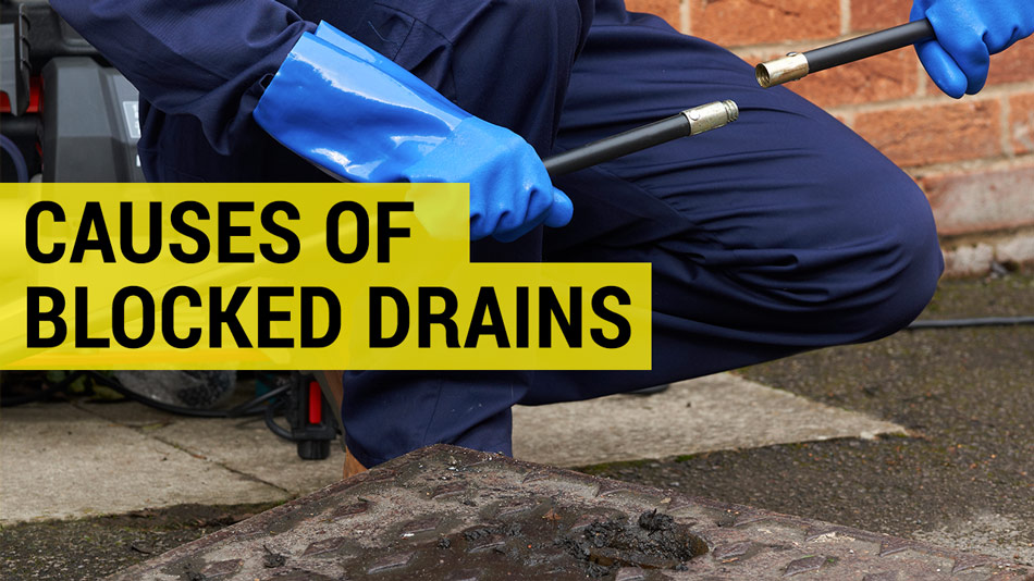 what causes a blocked drain