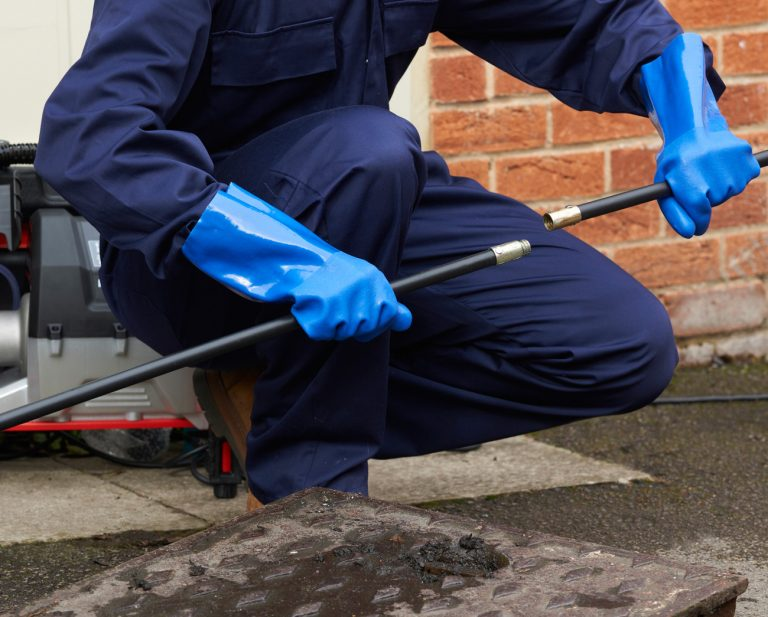 blocked drains cleared in cosham