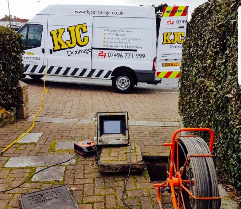 CCTV drain surveys in Stubbington