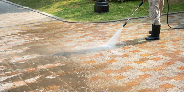 driveway and patio cleaning service in stubbington