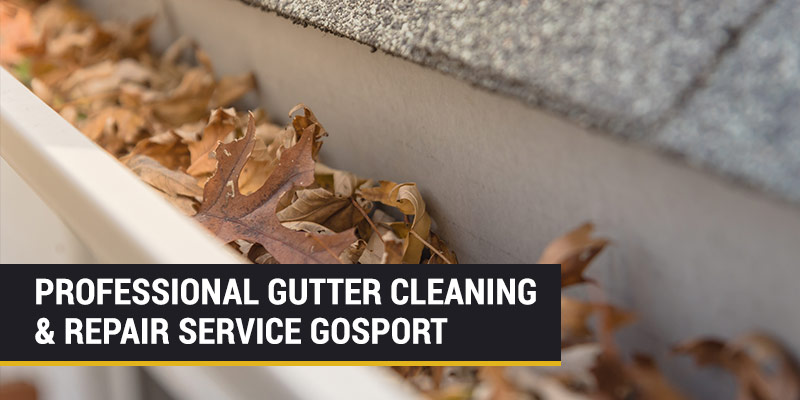 gutter cleaning and repair gosport