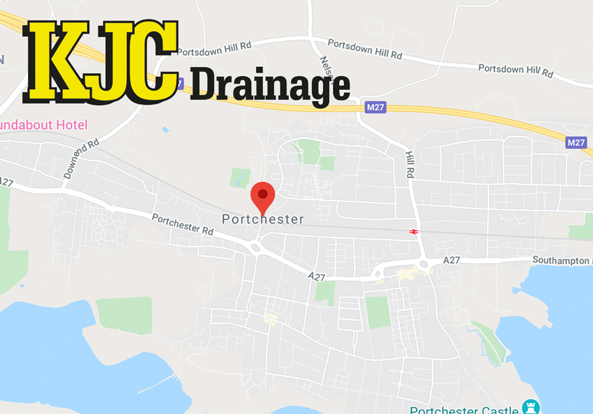 kjc drainage company in portchester