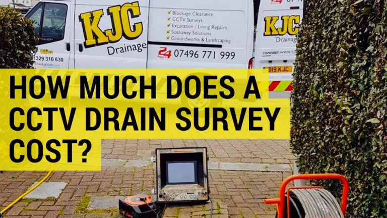 how much does a CCTV drain survey cost