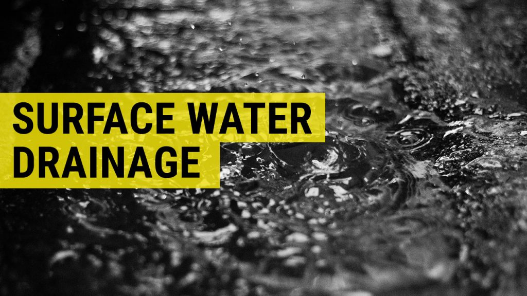surface water drainage