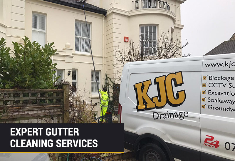 Expert gutter cleaning services