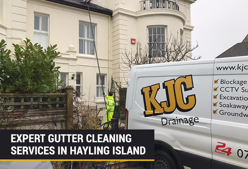expert gutter cleaning in hayling island