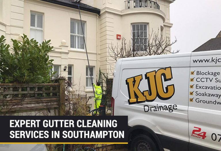 Gutter Cleaning & Repairs in Southampton | KJC Drainage